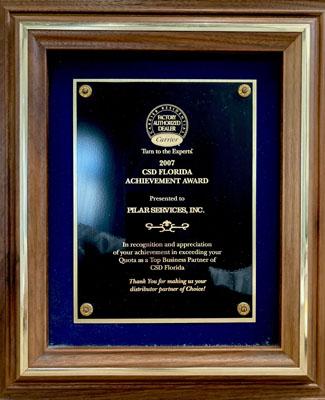 2007 CSD Florida Achievement Award